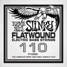 Ernie Ball Cobalt Flatwound Electric Bass Single String - Long Scale .110