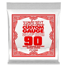 Ernie Ball Nickel Wound Single Electric Guitar String Long Scale .090w