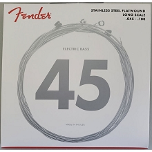 Fender 9050 Flatwound Bass String Set Long Scale - 4-String 45-100 Light 9050L