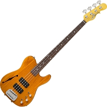 G&L USA ASAT Semi-Hollow Option Order 4-String Electric Bass - Build your own!