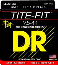 DR Tite-Fit Electric Guitar String Set - 09.5-44 Half-Tite HT-9.5