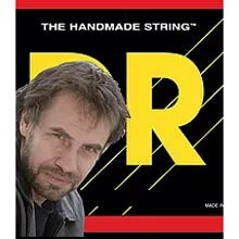 DR Jonas Hellborg Single Nickel Wrap Electric Bass Strings Long Scale - 4-String Set 40-100 JH-40