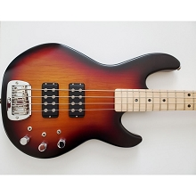 G&L USA L-2000 3-Tone Sunburst Satin Frost 4-String Electric Bass Guitar SN5304