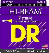 DR Hi-Beam Electric Guitar String Set - 10-56 7-String Medium MTR7-10