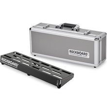 RockBoard by Warwick 2.1 DUO Pedal Board w/ Flight Case (18.11