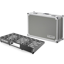 RockBoard by Warwick 4.2 QUAD PedalBoard w/ Flight Case (24.5