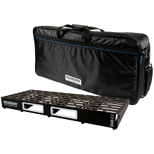 RockBoard by Warwick 4.3 QUAD PedalBoard w/ Touring ABS Case (32.5
