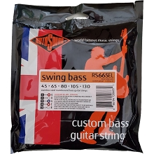 Rotosound Swing Bass 66 Stainless Steel Electric Bass Strings Super Long Scale Set - 5-String 45-130 RS665EL