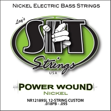 SIT Powerwound Nickel Bass String Set Long Scale - Octave 12-String 40-095 NR121895L