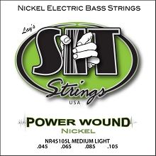 SIT Powerwound Nickel Bass String Set Long Scale - 4-String 45-105 NR45105L