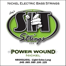 SIT Powerwound Nickel Bass String Set Super Long Scale - 5-String 45-125 NR545125XL