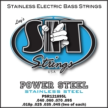 SIT Powersteel Stainless Bass String Set Long Scale - Octave 12-String 40-095 PSR121895L