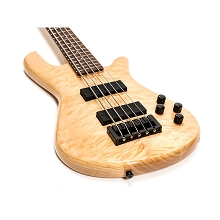 Spector Legend 5 Classic - Natural High Gloss w/ Figured Maple Top