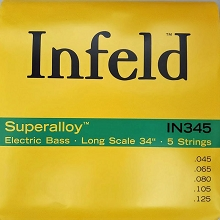 Thomastik-Infeld Superalloy Bass String Set Long Scale - 5-String 45-125 IN345