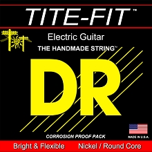 DR Tite-Fit Electric Guitar String Set - 12-52 Jazz w/ Wound 3rd JZ-12