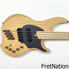 Dingwall Combustion C3 4-String Natural Ash w/ Gig Bag #08297 7.96 Pounds