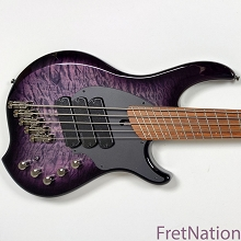 Dingwall Combustion C3 5-String Amethyst Burst Pau Ferro Limited Edition SN: 07463 10.16 Pounds