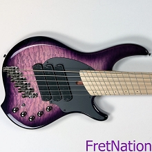 Dingwall Combustion 3x UltraViolet 6-String Electric Bass w/ Maple Fingerboard - SN-7240