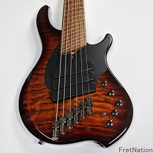 Dingwall Combustion 3x VintageBurst 6-String Electric Bass w/ Pau Ferro Fingerboard - SN-7082