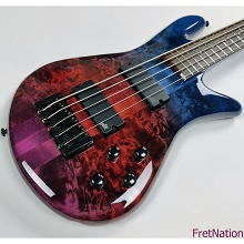 Spector NS Ethos 5-String Bass - Intersetallar Gloss 9.28 Pounds #0434
