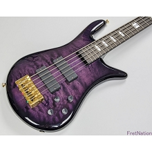 Spector Euro LT Violet Fade Gloss 5-String Electric Bass - EURO5LTVFG
