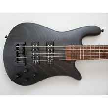 Spector USA Series Forte 5-String Bass Trans Black Aguilar Super Doubles Darkglass Forte5-113
