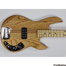 G&L CLF L-1000 Natural Gloss 4-String Bass - 8.16 Pounds CLF2011115