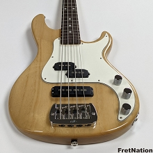 G&L USA SB-2T Natural Gloss 4-String Electric Bass Guitar 7.38 Pounds - CLF2009134