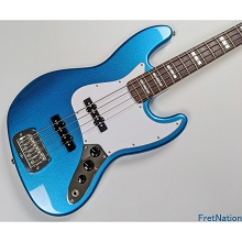 G&L USA JB Lake Placid Blue Metallic 4-String Electric Bass Guitar - CLF2005155