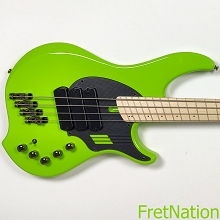 Dingwall NG3 4-String Ferrari Green Electric Bass w/ Gig Bag 8.68 Pounds SN-09080