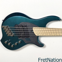 Dingwall NG3 5-String Black Forest Green Electric Bass #08590 9.18 Pounds
