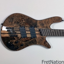 Spector NS Dimensions 4-String Multi-Scale Bass - Super Faded Black Gloss #0970