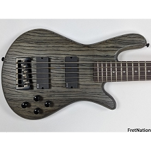 Spector NS Pulse 5-String Bass - Charcoal Grey 8.54 Pounds #0739