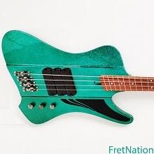 Dingwall D-Roc Standard Aquamarine Metal Flake Gloss 4-String Electric Bass w/ Gig Bag #7893