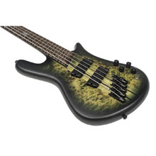 Spector NS Dimensions 5-String Multi-Scale Bass - Haunted Moss Matte