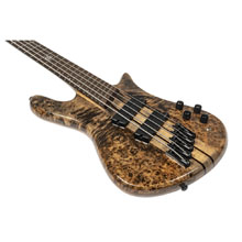 Spector NS Dimensions 5-String Multi-Scale Bass - Super Faded Black Gloss