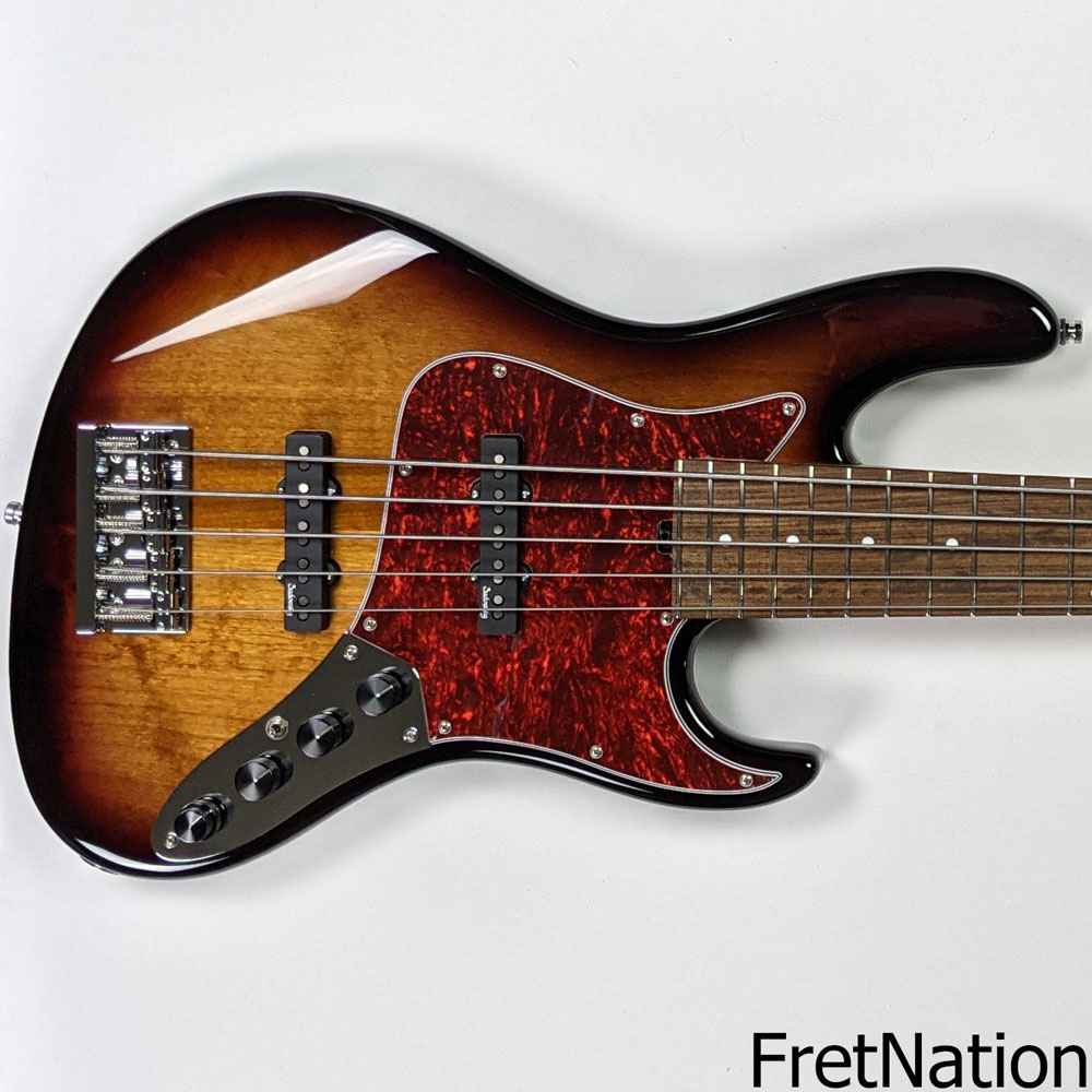 Sadowsky Metro Line Will Lee 22-Fret '59 Burst 5-String Bass #580-20
