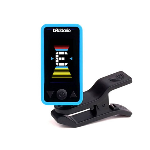 D'Addario PW-CT-17BU Eclipse Headstock Tuner in Blue