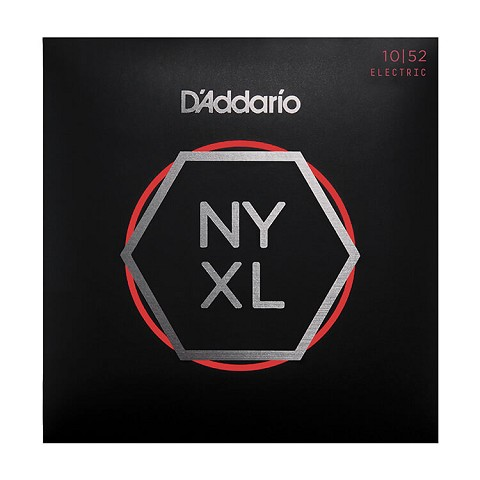 D'Addario NYXL Nickel Wound Guitar String Set 10-52 LT/HB NYXL1052