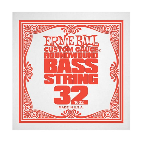 Ernie Ball Nickel Wound Slinky Electric Bass Single String - Long Scale .032