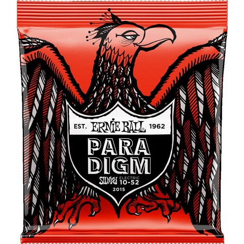Ernie Ball Paradigm Electric Guitar String Set - 10-52 Skinny Top Heavy Bottom 2015