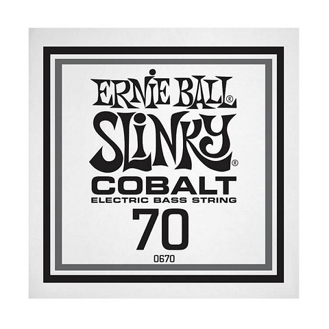 Ernie Ball Slinky Cobalt Wound Electric Bass Single String - Long Scale .070