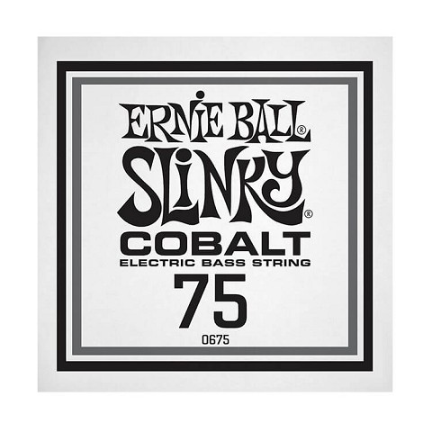 Ernie Ball Slinky Cobalt Wound Electric Bass Single String - Long Scale .075
