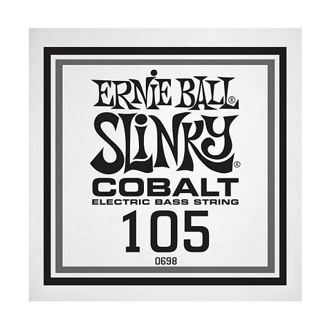 Ernie Ball Slinky Cobalt Wound Electric Bass Single String - Long Scale .105