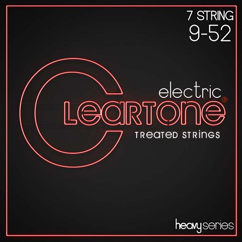 Cleartone EMP Treated Nickel Plated Steel Heavy Series Guitar String Set 09-52 7-String Super Light 9409-7