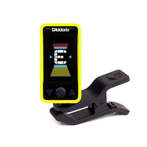 D'Addario PW-CT-17YL Eclipse Headstock Tuner in Yellow