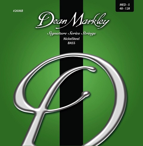Dean Markley NickelSteel Bass String Set Long Scale - 5-String 48-128 2606B