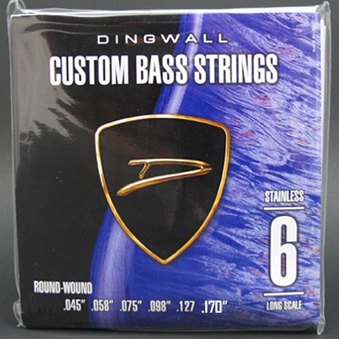 Dingwall Stainless Steel Long Scale Multi-Scale Length - 6-String Low F# Tuning 45-170