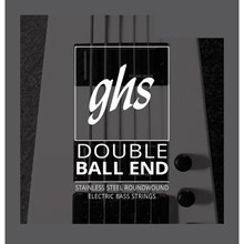 GHS Double Ball End Stainless Steel Double Ball End Bass Strings - 4-String 40-102 5600
