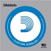 D'Addario XL Nickle Single Electric Double Ball End String - .050DB